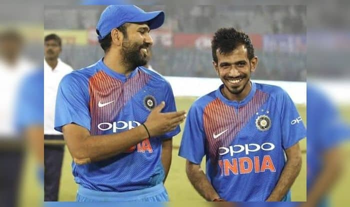 Rohit Sharma Trolls Yuzvendra Chahal, Happy Birthday Yuzvendra Chahal, Yuzvendra Chahal turns 29, India tour of West Indies, Ind vs WI, WI vs Ind, Cricket News, Indian Cricket Team, Hitman, Team India