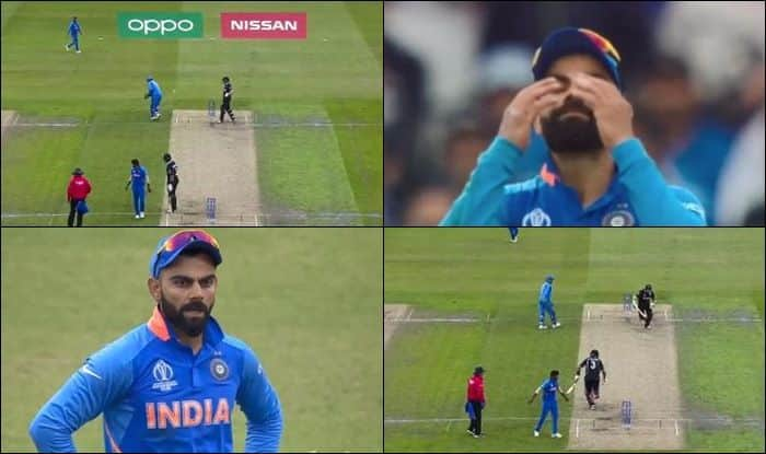 India vs New Zealand, India vs New Zealand semi-final 1, India vs New Zealand, MS Dhoni, Virat Kohli, Virat Kohli loses cool on MS Dhoni, Virat Kohli gets angry on Dhoni, Ind vs NZ, Cricket News, Manchester, Old Trafford, ICC Cricket World Cup 2019, ICC World Cup 2019, 2019 ICC CWC, 2019 ICC Cricket World Cup 2019