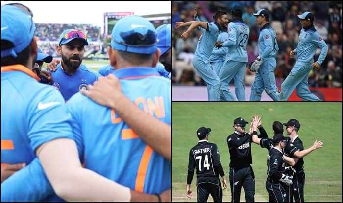 World Cup Semi-Finals: Check Points Table. Australia, New Zealand or England; Who Will Virat Kohli-led Team India Play in 2019 ICC Cricket World Cup Semi-Finals? Check these scenarios