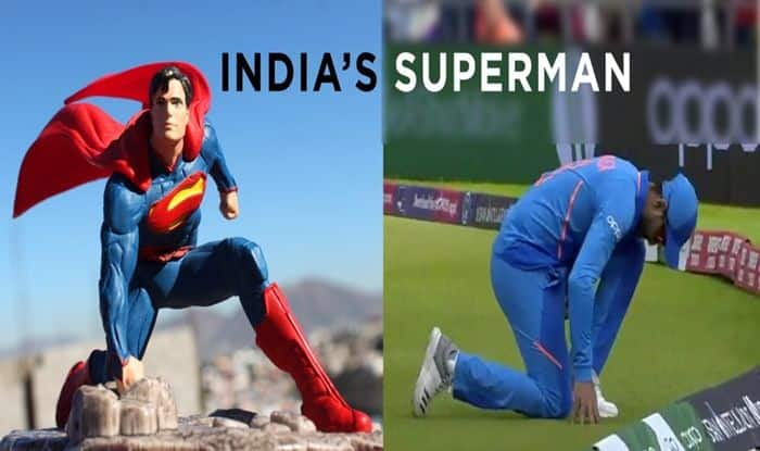 Ravindra Jadeja, Ravindra Jadeja runout, Ravindra Jadeja direct hit, ICC Cricket World Cup 2019, India vs New Zealand, Ind vs NZ, Team India, Manchester weather, Online Cricket Tips - ICC Cricket World Cup 1st Semifinal, Cricket Tips And Predictions - 1st World Cup Semifinal. Manchester, Old Trafford, Ravindra Jadeja catch