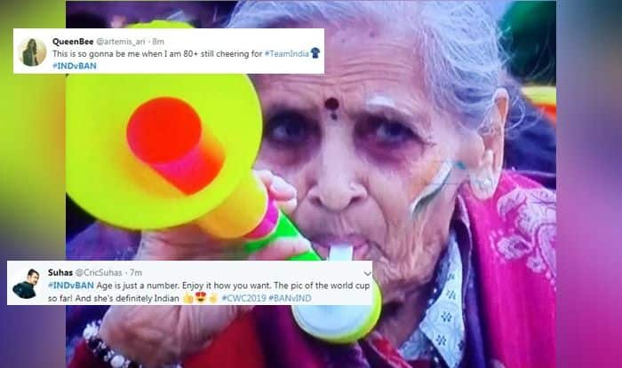 Indian dadi, Indian dadi expressions, dadi goes viral, Twitter Viral, Twitter Trending, India vs Bangladesh, Ind vs Ban, ICC Cricket World Cup 2019, Match no 40, Edgbaston, Birmingham, Cricket News, Indian Cricket National Team, Team India, Indian Cricket Team