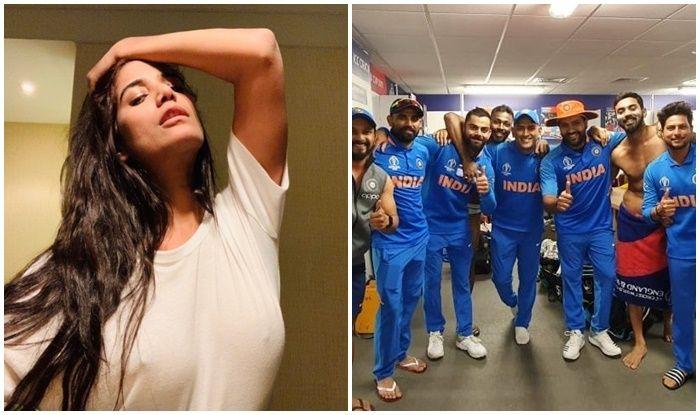 Poonam Pandey, Poonam Pandey Lauds Team India, Ind vs Ban, ICC Cricket World Cup 2019, Match no 40, Edgbaston, Birmingham, Cricket News, Indian Cricket National Team, Team India, Indian Cricket Team, India beat Bangladesh by 28 runs, India reach semi-finals