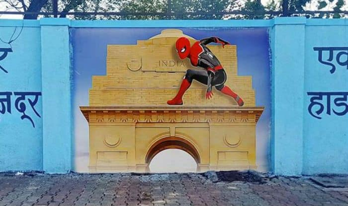 Spider-Man Gets 'Desi' Welcome in India, Students Paint Spider-Man Graffiti Art in Mumbai