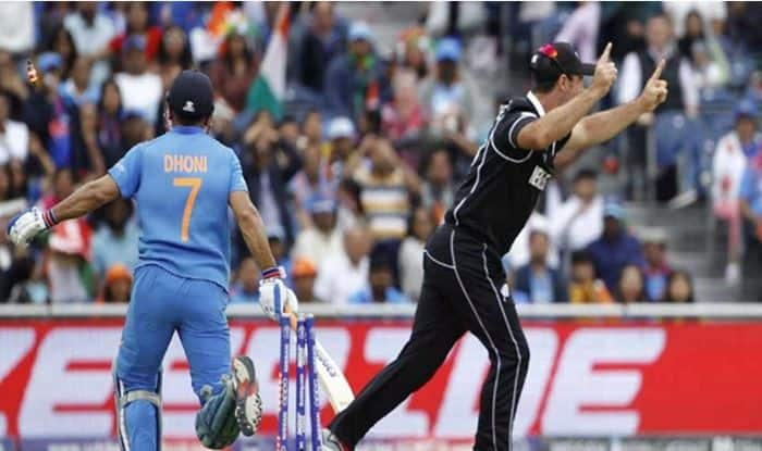 MS Dhoni, MS Dhoni fan, MS Dhoni Jharkahnd fan, MS Dhoni retirement, Thank You MS Dhoni, India vs New Zealand, India vs New Zealand semi-final 1, Manchester, Old Trafford, ICC Cricket World Cup 2019. ICC World Cup 2019, 2019 ICC CWC