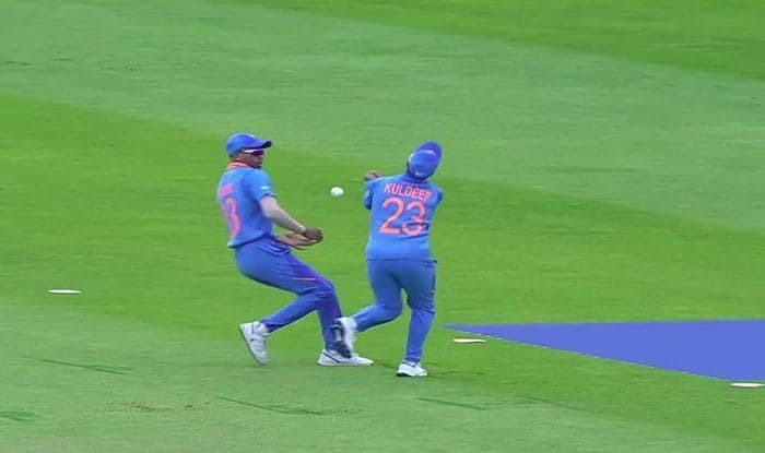 Kuldeep Yadav-Hardik Pandya drop catch, Kuldeep Yadav catch drop, Ind vs SL, ICC Cricket World Cup 2019, ICC World Cup 2019, Leeds, Headingley, Cricket News