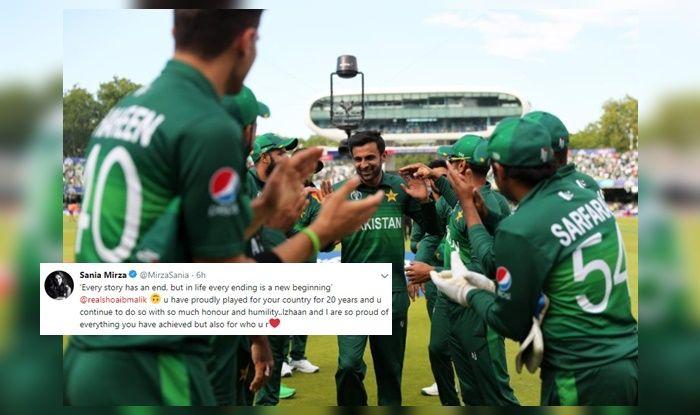 Shoaib Malik, Sania Mirza's heartfelt post, Sania Mirza tennis, Shoaib Malik's gesture towards fan, Thank You Malik, Shoaib Malik Retirement announcement, Shoaib Malik announces, Shoaib Malik dinner, Shoaib Malik farewell match, Shoaib Malik Retires, Shoaib Malik age, ShoaIB Malik Career, Pakistan beat Bangladesh by 94 runs, Pakistan fail to qualify, Pakistan out of 2019 World Cup, ICC Cricket World Cup 2019, CWC 2019, ICC World Cup 2019, Pakistan Cricket Team, Lords, Cricket News