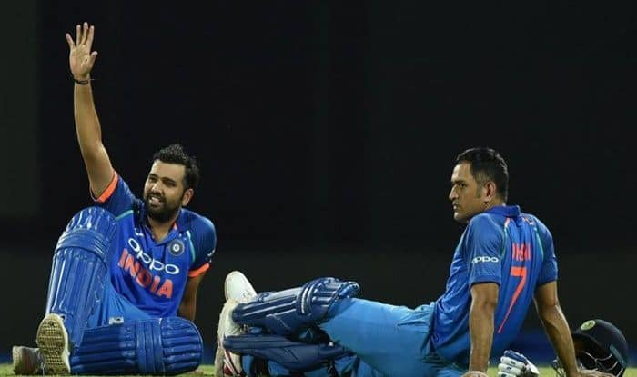 MS Dhoni,, MS Dhoni Birthday, Rohit Sharma wishes MS Dhoni Happy Birthday, Rohit Sharma records, India vs New Zealand, Semi-Final 1, Manchester, Old Trafford, Dhoni turns 38, Happy Birthday Dhoni, Happy Birthday MS Dhoni, ICC Cricket World Cup 2019, Team India, MS Dhoni Happy Birthday, Cricket News, MS Dhoni Birthday Wishes, BCCI, Dhoni World Cup 2019, MS Dhoni World Cup