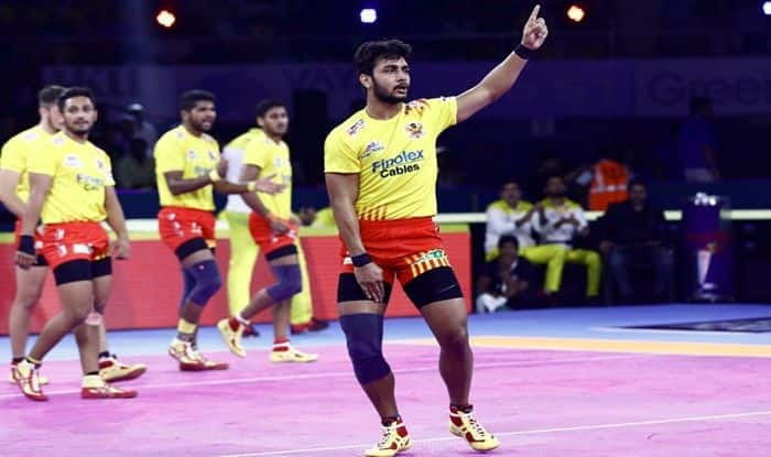 Highlights UP Yoddha vs Gujarat Fortunegiants, Pro Kabaddi League 2019 Highlights From Gachibowli Indoor Stadium. Also Check UP Yoddha vs Gujarat Fortunegiants live match score, live streaming of UP vs GUJ, UP vs GUJ Points, UP vs GUJ Playing 7, Time in IST and Watch UP vs GUJ on Star Sports on TV and Online Streaming on Hotstar in India.