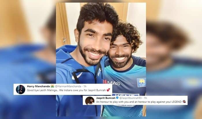 Lasith Malinga, Jasprit Bumrah posts heartfelt post for Lasith Malinga, Mumbai Indians, Jasprit Bumrah wickets, Lasith Malinga retires, Team India give guard of honour, Virat Kohli, Rohit Sharma, India beat Sri Lanka by seven wickets, ICC World Cup 2019 Points Table, India vs Sri Lanka, Ind vs WI, Leeds, Headingley, Cricket News, ICC Cricket World Cup 2019, ICC World Cup 2019, 2019 ICC CWC