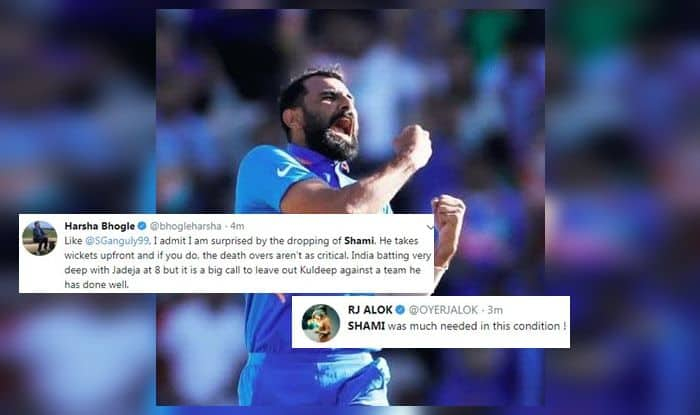 Mohammed Shami, Mohammed Shami controversy, Mohammed Shami dropped, Mohammed Shami not included, ICC Cricket World Cup Semi Final 1 Between India vs New Zealand, ICC Cricket World Cup 2019 Semi Final 1 Between India vs New Zealand, ICC Cricket World Cup 2019, India vs New Zealand, Ind vs NZ, Cricket News, Manchester, Old Trafford, New Zealand win toss, Blackcaps, India playing 11
