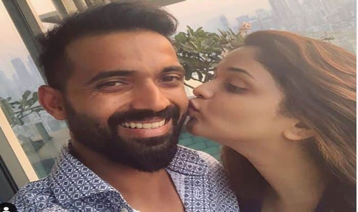 Ajinkya Rahane, Radhika Dhopavkar, Ajinkya Rahane set to become father, Ajinkya-Radhika set to welcome first child, Rahane-Radhika to become parents, Cricket News, India vs West Indies 2019, Team India, India tour of West Indies 2019