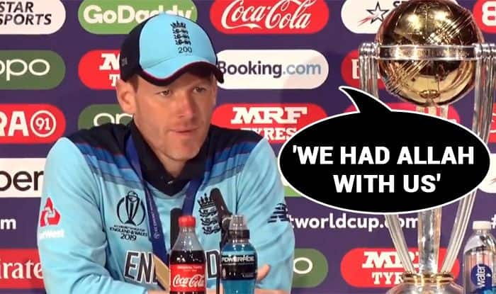 Eoin Morgan's Response When Asked if Irish Luck, We Had 'Allah' With Us, Eoin Morgan, England beat New Zealand in Super Over by virtue of boundaries, ICC Cricket World Cup 2019 Final, ICC World Cup 2019, Cricket News, Lords, London, England win maiden WC title, England skipper Eoin Morgan, 2019 Cricket World Cup