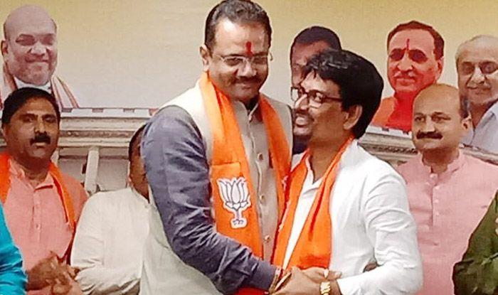 Former Congress MLAs Alpesh Thakor And Dhavalsinh Zala Join BJP