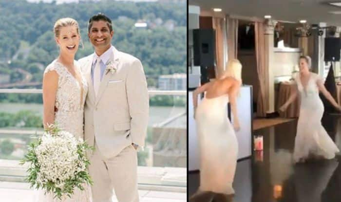 American Tennis Player Alison Riske Dances to Katrina Kaif's Nachde Ne Saare Song on Her Wedding With Stephen Amritraj