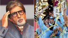 Sr. Bachchan Takes a Cheeky Jibe at ICC, Mocks 'Boundary Rule' After England's WC Win | POST