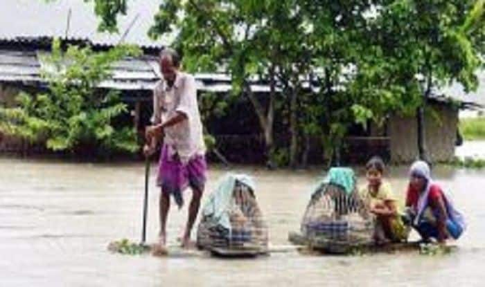 Assam Flood: Brahmaputra Water Level Drops Marginally; 54 Lakh People Affected