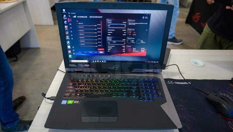 Asus ROG G703 First Impressions: If absolute power and overclocking came in a portable package