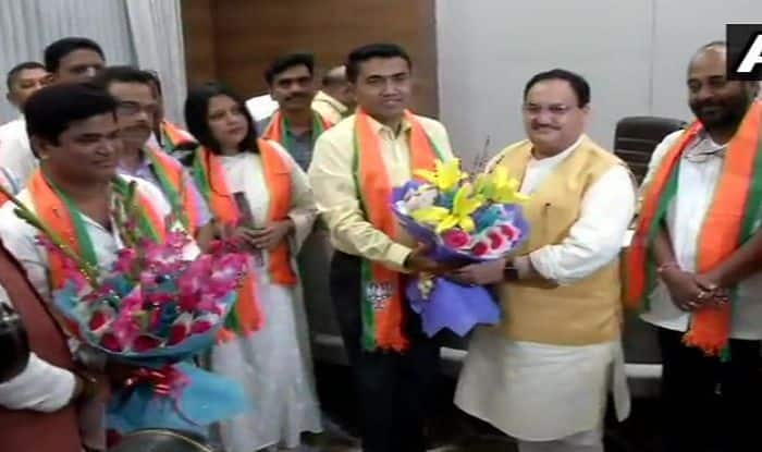 BJP Has Proved it Backs Rapists, Says Congress as 10 of Its Goa MLAs Officially Join BJP