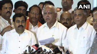 Karnataka: BS Yeddyurappa Congratulates Amit Shah, Says 'It's Relief For People of State'