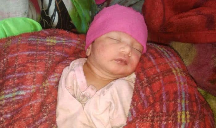 Baby boy abandoned, Ghaziabad, New-born dumped in drain, Dasna