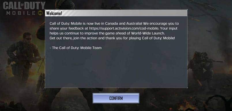 Call of Duty: Mobile goes live in Australia and Canada