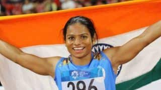 Dutee Chand Wins Gold in World University Games