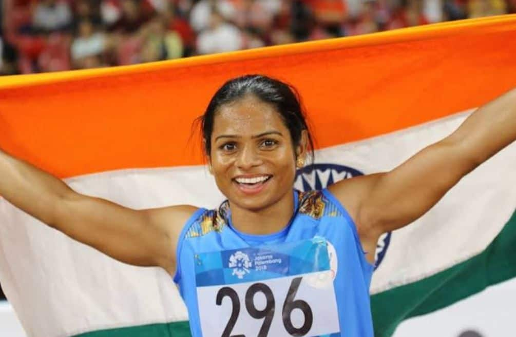 Dutee Chand, Indian Athlete, IOA, Indian Gold Medalist, Indian Olympian, Olympic Gold Medalist, World University Games,
