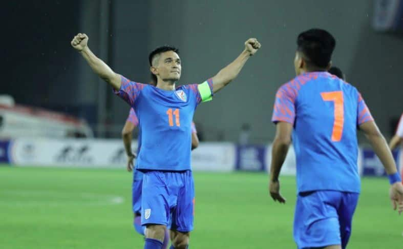 Sunil Chhetri, Indian Football Team, Hero Intercontinental Cup, Sunil Chhetri footballer, Indian football captain Sunil Chhetri, Indian football team captain, Indian football team news, Indian football team coach, Indian football team match, Indian football latest news, Indian football captain, Indian football league, Indian football players, Indian football jersey,