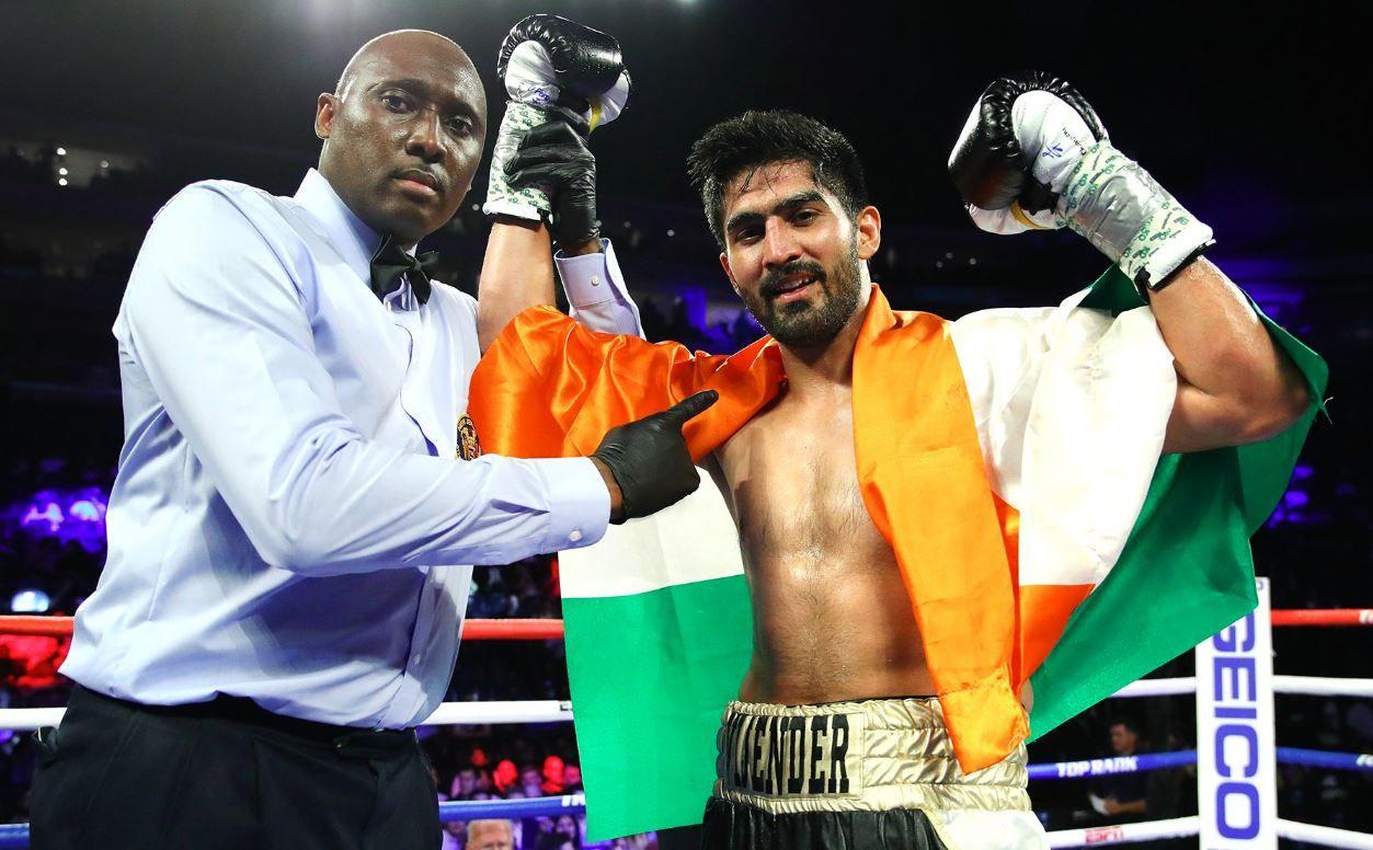 Vijender Singh, Indian boxer, Indian boxer Vijender Singh, World Heavyweight Championship, Heavyweight boxer Vijender Singh, Singh vs Snider, Vijender Singh vs Snider
