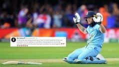 Stokes Thanks Everyone For Their Support in ICC Cricket World Cup 2019 | SEE POST