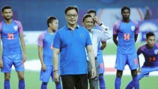 Sports Minister Kiren Rijiju Promises Extra Financial Help For Indian Football Team
