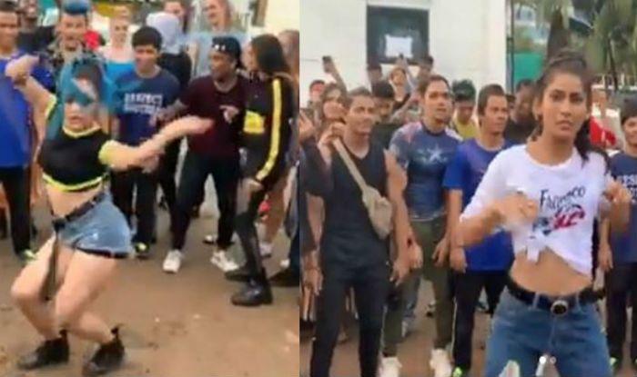 Nora Fatehi's Fans Dance on 'O Saki Saki'