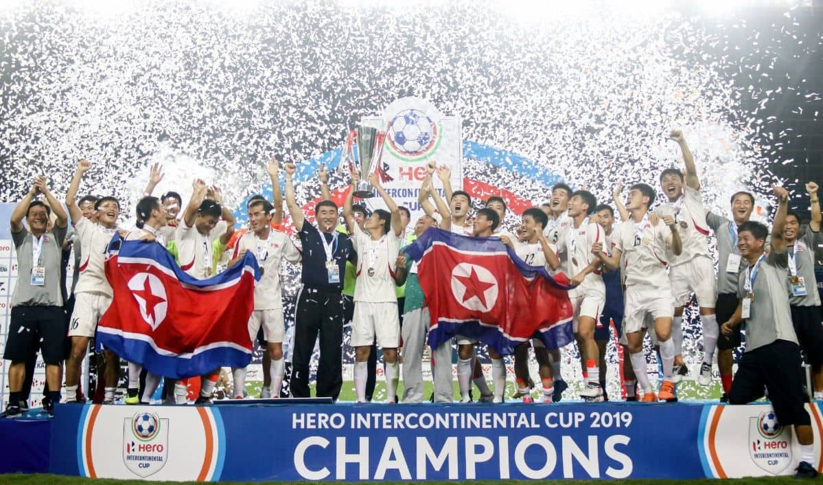 Intercontinental Cup 2019, North Korea wins Intercontinental Cup 2019, North Kore beats Tajikistan, North Korea vs Tajikistan, DPR Korea wins Intercontinental Cup 2019, DPR Korea vs Syria, Indian football team, Indian football team in Intercontinental Cup 2019, Indian football news, Indian football team news,