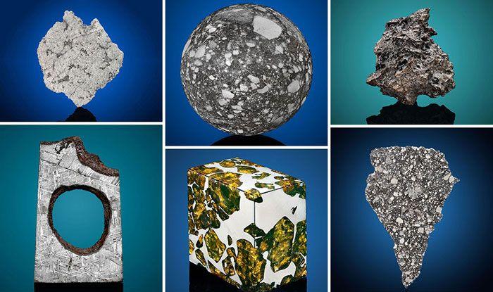 Christie's auction house, Rare meteorites, Gibeon Meteorites, Mars meteorites