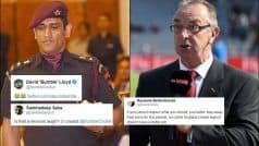 'Is That a Nervous Laugh?': Fans TROLL English Legend For Mocking Dhoni's Call to Serve Regiment | POSTS