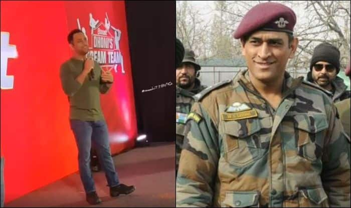 MS Dhoni, MS Dhoni inspiring speech, MS Dhoni speech motivational speech, MS Dhoni joins army regiment, MS Dhoni Gives Inspiring Speech at Chennai Before Joining Regiment in Kashmir, Captain Cool MS Dhoni, MSD, Team India, Indian Cricket Team, Cricket News, Lt Col MS Dhoni