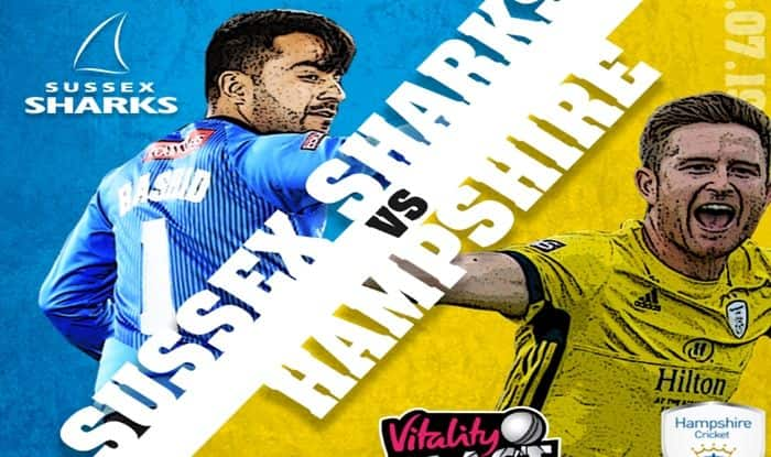 Vitality T20 Blast 2019, SUS vs HAM Dream XI Predictions, Today Match Predictions, Today Match Tips, Sussex vs Hampshire, Sussex vs Hampshire Today's Match Playing xi, Today Match Playing xi, SUS playing xi, HAM playing xi, dream 11 guru tips, Dream XI Predictions for today's match, Vitality T20 Blast SUS vs HAM Match Predictions, online cricket betting tips, cricket tips online, dream 11 team, my team 11, dream11 tips, Vitality T20 Blast Dream11 Prediction, Cricket Tips And Predictions - Vitality T20 Blast 2019.