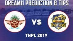 Dream11 Team Madurai Panthers vs TUTI Patriots Match 3 TNPL Prediction & Tips