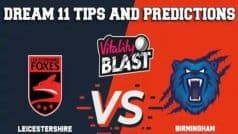 Warwickshire vs Leicestershire Dream11 Team Prediction & Tips