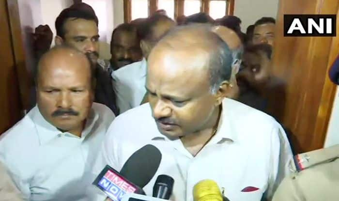 Day After JDS-Cong Govt Topples, Kumaraswamy Non-committal About Future of Alliance
