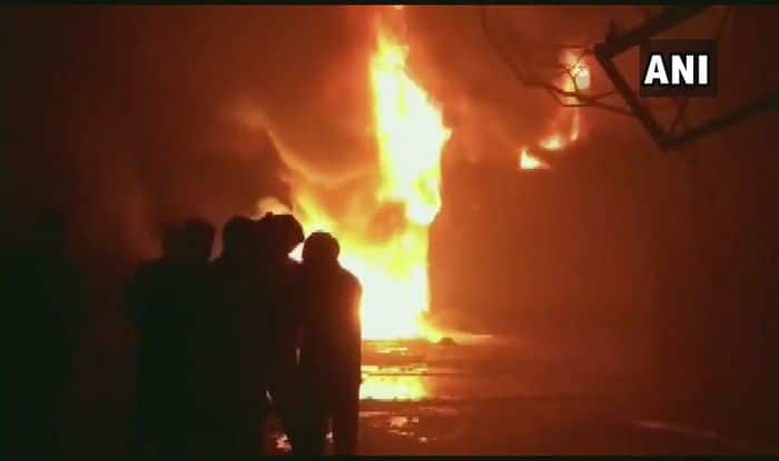 Fire in Bhiwandi