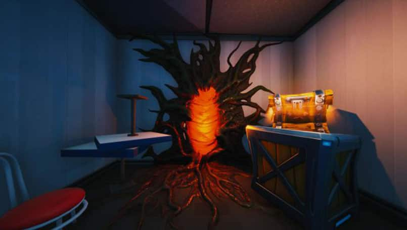 Fortnite get upside down portals from Stranger Things