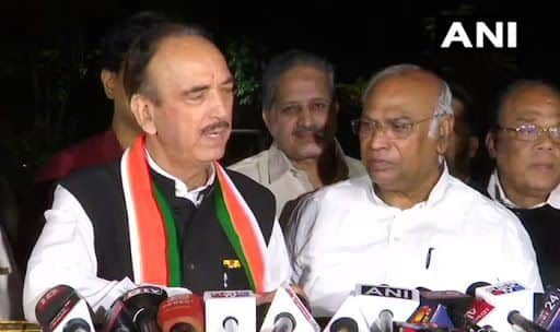 Karnataka Crisis: Governors Side With Defectors & Help Them Come Out of Congress, Says Ghulam Nabi Azad