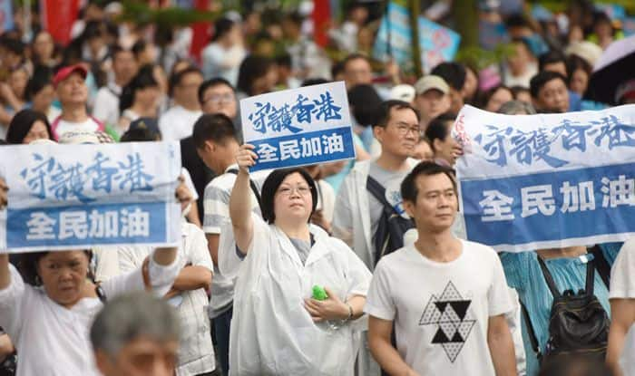 China, USA, Hong Kong, Pro-democracy protests, Extradition Bill
