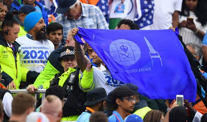 ICC Cricket World Cup 2019, India-New Zealand semi-final, Old Trafford, Political propaganda