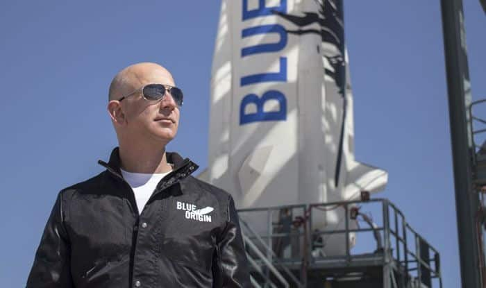 Jeff Bezos, Elon Musk, NASA, Moon landing, Blue Origin, SpaceX