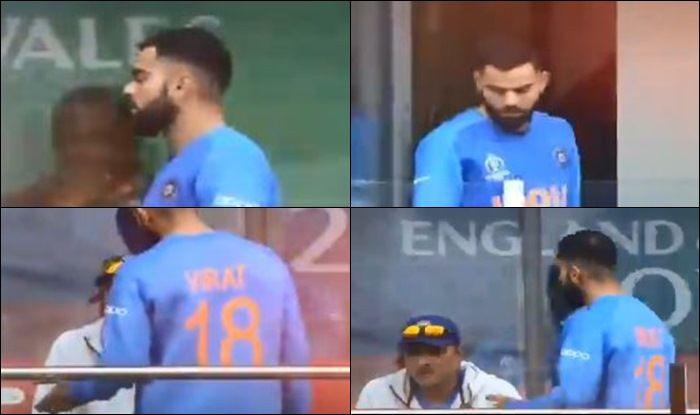 Virat Kohli gets angry on Ravi Shastri, Virat Kohli blasts Ravi Shastri, Virat Kohli Has A Heated Convo With Ravi Shastri For Sending Rishabh Pant, Dinesh Karthik Ahead of MS Dhoni, India vs New Zealand, New Zealand beat India by 18 runs, India vs New Zealand Semi Final 1, Cricket News, ICC Cricket World Cup 2019, 2019 ICC Cricket World Cup, Team India, Indian Cricket Team