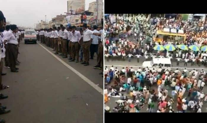 Move Over Hong Kong, Lakh of Devotees at Jagannath Puri Rath Yatra Create Human Corridor to Allow Ambulance to Pass, Watch