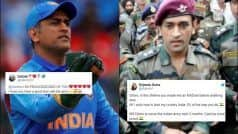 'Can't Love You Enough': Fans Laud Lt Col Dhoni For Taking Break to Serve Army Regiment | POSTS
