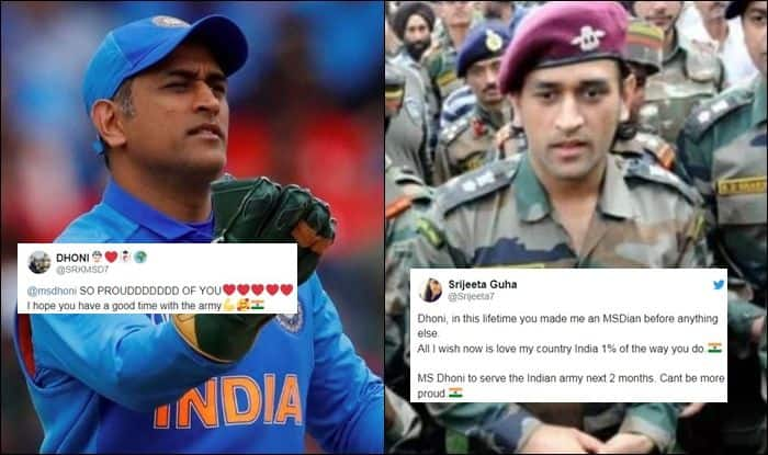 Mahendra Singh Dhoni, MS Dhoni, MS Dhoni Twitter, MS Dhoni retirement, Lt Colonel MS Dhoni, India's tour of West Indies, Cricket News, Indian Cricket Team, Former captain MS Dhoni, Territorial Army Regiment